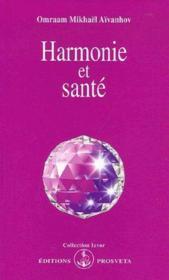 Harmonie et sante - Couverture - Format classique