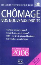 Chomage Vos Nouveaux Droits 2006 - Intérieur - Format classique