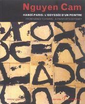 Nguyen Cam ; Hanoi-Paris ; L'Odyssee D'Un Peintre - Intérieur - Format classique