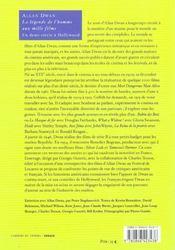 Allan Dwan La Legende De L Homme Aux Mille Films - 4ème de couverture - Format classique