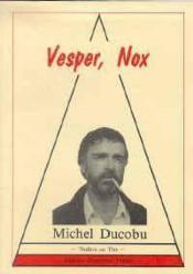 Vesper, Nox - Couverture - Format classique