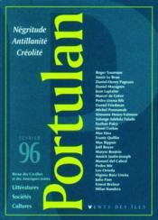Portulan N 1 Negritude Antillanite Creolite - Couverture - Format classique