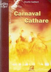 Carnaval cathare - Couverture - Format classique