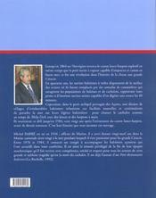 Dernieres Chasses Aux Cachalot - 4ème de couverture - Format classique