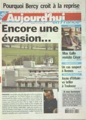 Aujourd'Hui En France N°571 du 15/04/2003 - Couverture - Format classique
