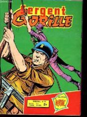 Sergent Gorille N°72 - Pieges En Serie - Couverture - Format classique