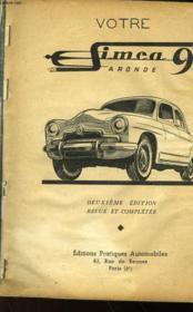 Votre Simca Aronde 9 - Couverture - Format classique