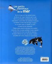 Les qui sommes-nous ? les petits d'animaux de la mer - 4ème de couverture - Format classique