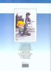 Cédric t.11 ; cygne d'étang - 4ème de couverture - Format classique