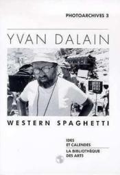 Yvan Dalain - Western Spaghetti - Couverture - Format classique