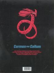 Carmen Mc Callum t.3 ; intrusions - 4ème de couverture - Format classique