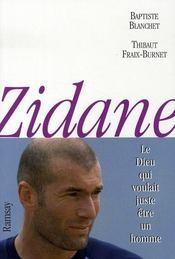 Zidane, le dieu qui voulait juste être un homme - Intérieur - Format classique