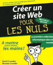 Créer Un Site Web - Intérieur - Format classique