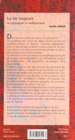 La Vie Toujours - 4ème de couverture - Format classique