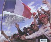 Champions du monde - 4ème de couverture - Format classique