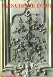 La Menuiserie D'Art. Collection : Les Arts Decoratifs. - Couverture - Format classique