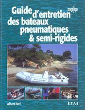 Guide D'Entretien Des Bateaux Pneumatiques - Intérieur - Format classique