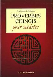 Proverbes Chinois Pour Mediter - Intérieur - Format classique