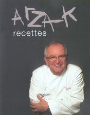 Arzak, recettes - Intérieur - Format classique