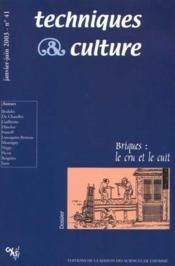 Briques : le cru et le cuit - Couverture - Format classique