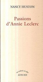 Passions D'Annie Leclerc - Intérieur - Format classique