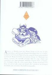 Tezuka, histoires pour tous t.2 - 4ème de couverture - Format classique