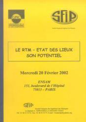 Le rtm ; etat des lieux ; son potentiel ; journee mercredi 20 fevrier 2002 - Couverture - Format classique