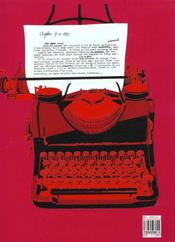 Un Ange Passe : Les Chroniques De Zilda T. - 4ème de couverture - Format classique