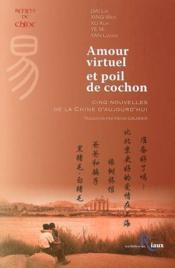 Amour Virtuel Et Poil De Cochon - Couverture - Format classique