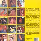 L'Argus Dalida ; Discographie Mondiale Et Cotations - 4ème de couverture - Format classique