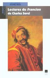 Lectures Du Francion De Charles Sorel - Intérieur - Format classique