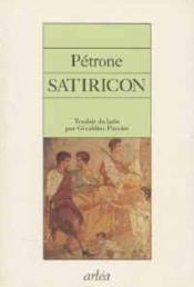 Satiricon - Couverture - Format classique