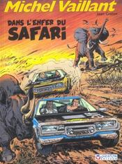 Michel Vaillant t.27 ; dans l'enfer du safari - Intérieur - Format classique