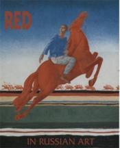 Red In Russian Art /Anglais - Couverture - Format classique