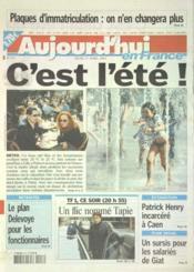 Aujourd'Hui En France N°573 du 17/04/2003 - Couverture - Format classique