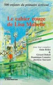 Cahier Rouge De Lisa Mabelle - Couverture - Format classique