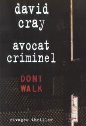 Avocat Criminel - Couverture - Format classique