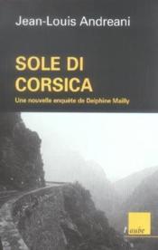 Sole Di Corsica - Couverture - Format classique