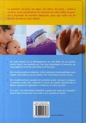 Le guide complet de mon bébé - 4ème de couverture - Format classique