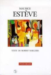 Maurice Esteve. Polychrome - Couverture - Format classique