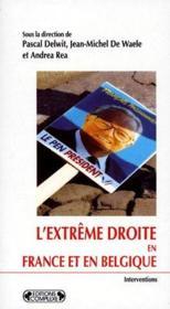 L'extrême droite en Belgique et en France - Couverture - Format classique