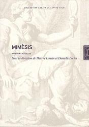 Mimèsis ; approches actuelles - Intérieur - Format classique