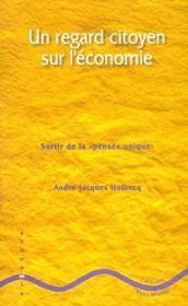 Regard Citoyen Sur L'Economie (Un) - Intérieur - Format classique