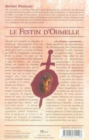 Festin d'ohmelle t.1 (le)-biere et champignons - 4ème de couverture - Format classique