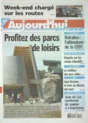 Aujourd'Hui En France N°575 du 19/04/2003 - Couverture - Format classique