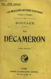 Le Decameron. Tome 2. - Couverture - Format classique