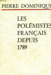 Les Polemites Francais Depuis 1789 - Couverture - Format classique