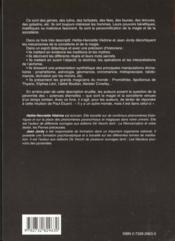 Magie Et La Sorcellerie (La) - 4ème de couverture - Format classique