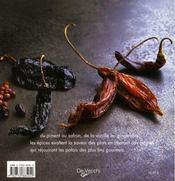 Épices - 4ème de couverture - Format classique