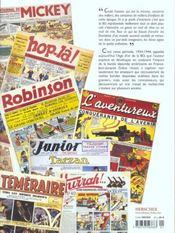 L'Age D'Or De La Bd 1934-1944 - 4ème de couverture - Format classique